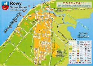 Rowy - Mapa na rok 2019